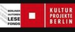 Autorenlese-Fond Berliner Kultur Projekte